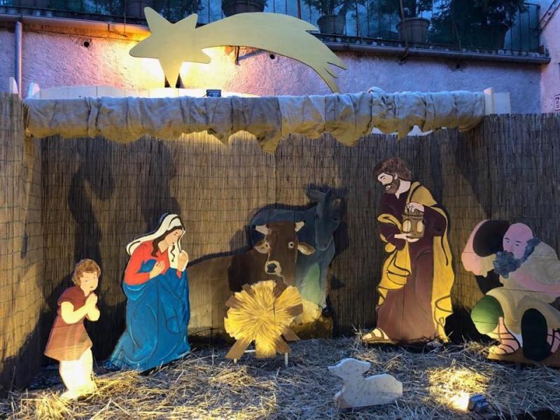Allestito il Presepe a Trevinano, visitabile fino all'Epifania