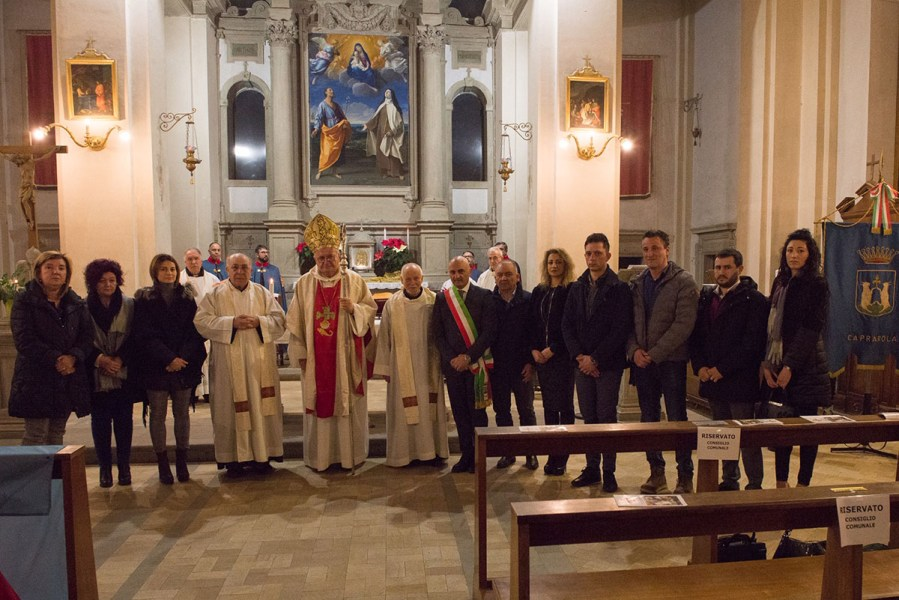 Dopo oltre 400 anni Caprarola saluta i padri carmelitani di Santa Teresa