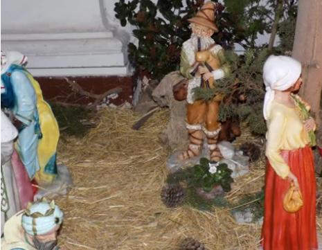 Natale 2018.  Alcuni Presepi di Orvieto