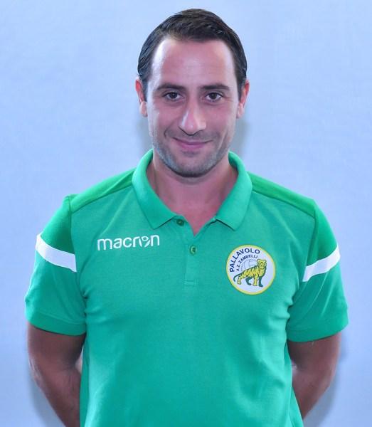Matteo Solforati concentrato per la seconda metà del campionato della Zambelli Orvieto