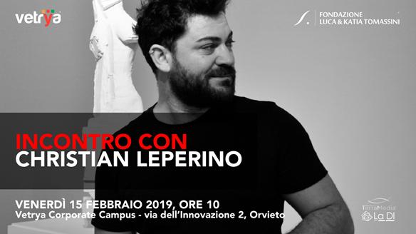 Incontro con Christian Leperino