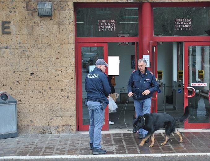 Cane antidroga Jamil smaschera spacciatore. Arrestato dalla Polizia quarantenne di Bolsena