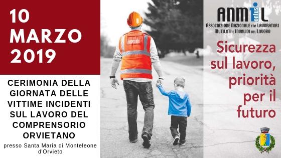 Giornata per vittime su lavoro organizzata da Anmil e Comune di Monteleone