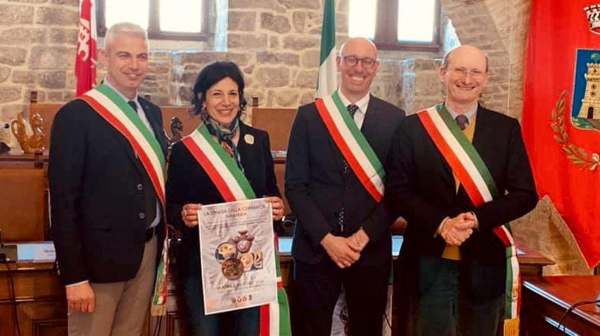 """Nasce a Deruta """"La strada della ceramica in Umbria"""", il comune di Orvieto in prima fila"""