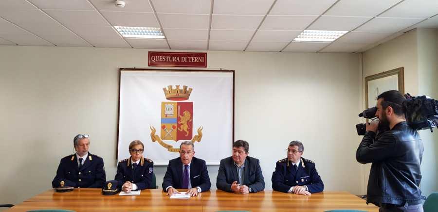 """Firmato in Questura il """"Protocollo per la Sicurezza Informatica con l'Azienda USL Umbria 2"""""""