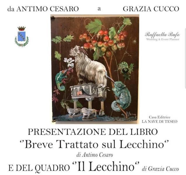 """Presentazione ad Amelia del quadro """"Il Lecchino"""" di Grazia Cucco"""