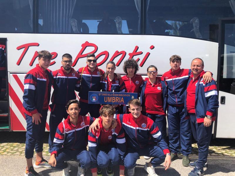 I ragazzi dell'Orvieto Fc hanno rappresentato l'Umbria in Basilicata