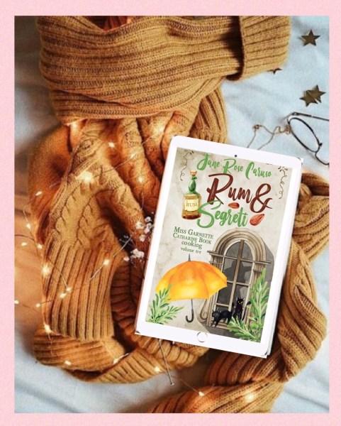 Rum e Segreti nel delizioso cottage di Miss Book. #StoriaSceltaDa @libriinunmondorosa