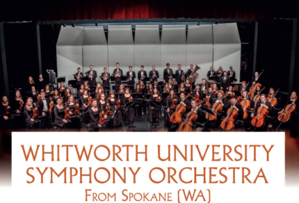 Arriva a Orvieto l'Orchestra Sinfonica Whitworth University