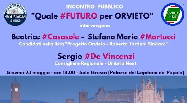 """""""Quale futuro per Orvieto"""". Se ne parla al Palazzo del Capitano del Popolo"""