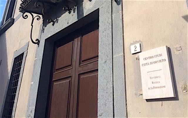 """Centro Studi """"Città di Orvieto"""": attribuite le deleghe funzionali ai componenti del cdA"""