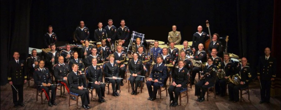 "Concerto per il Corpus Domini con la ""NAVAL Forces-Europe Band"""