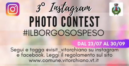 """""""Il Borgo sospeso"""", al via l'Instagram Photo Contest per promuovere Vitorchiano"""