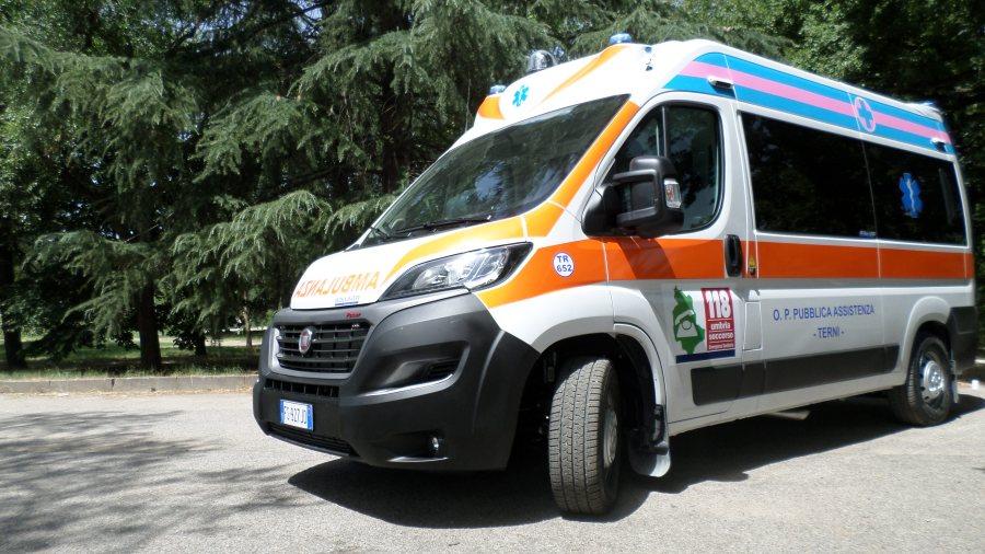 Pubblica assistenza Terni, arriva una nuova ambulanza per il soccorso avanzato