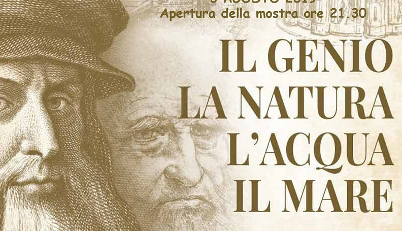 """""""Leonardo – La Natura, l'Acqua e il Mare"""""""