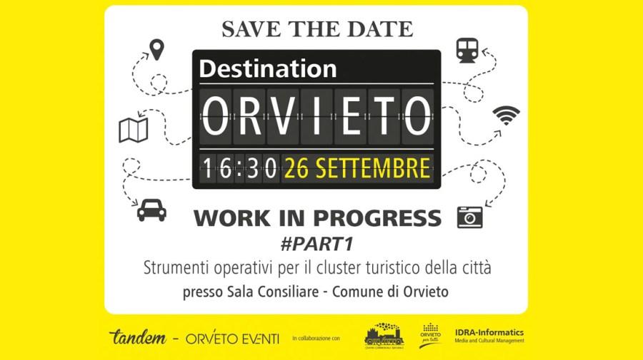 """""""Destination Orvieto"""", si parla di turismo con Orvieto Eventi. Sarà il primo di una serie di incontri"""