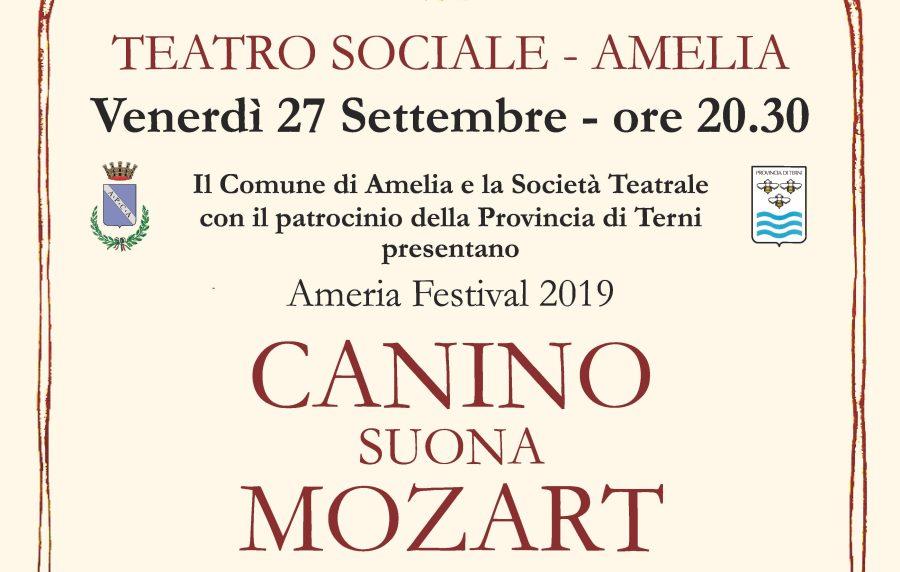 Ameria Festival: il pianista Bruno Canino suona Mozart accompagnato dall'Orchestra Europa Musica