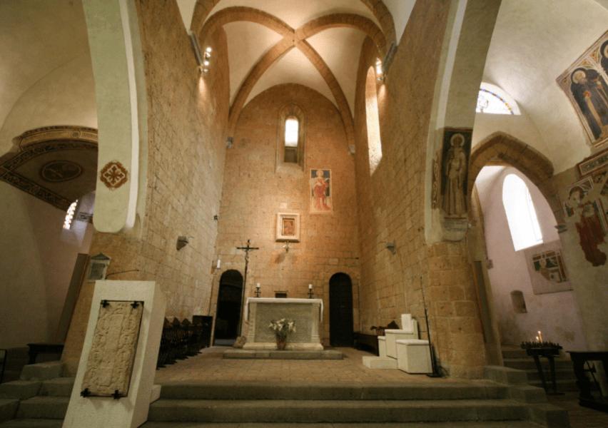 Ricollocazione della Madonna del Soccorso nella Chiesa di San Giovenale, la benedizione del Vescovo
