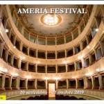 Due annulli filatelici per Amelia, nell'ambito di Ameria Festival 2019