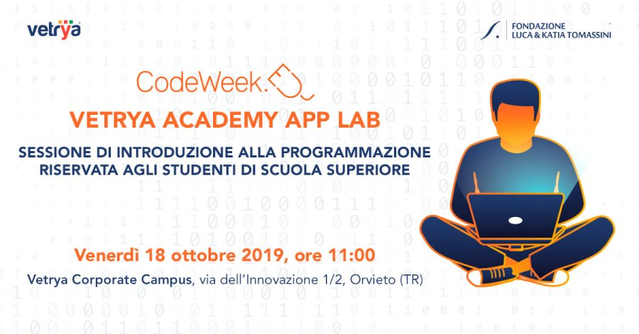 La CodeWeek sbarca al Vetrya Corporate Campus