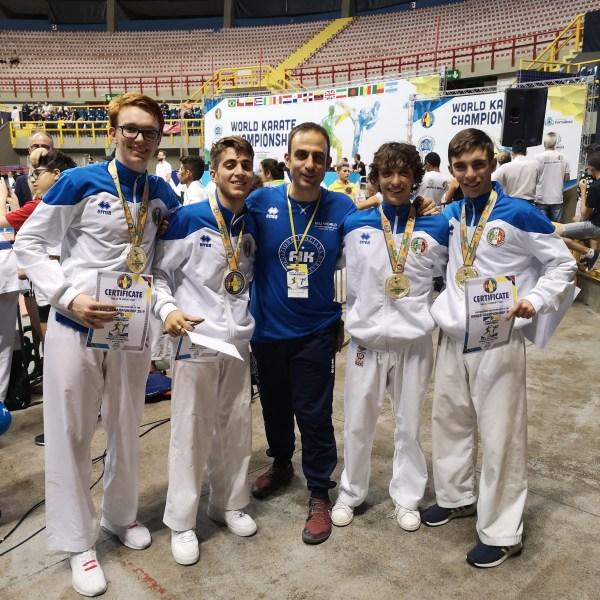 Gli atleti Orvietani della Scuola Kanseikan sulla vetta del mondo