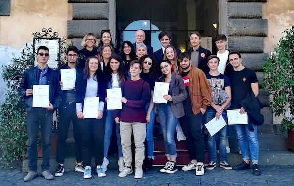 Consegnati dal Gruppo Fai Orvieto gli attestati di Apprendisti Ciceroni agli Studenti del Majorana