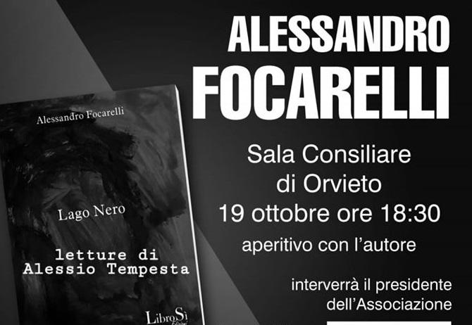 """Presentazione del libro """"Lago Nero"""" di Alessandro Focarelli"""