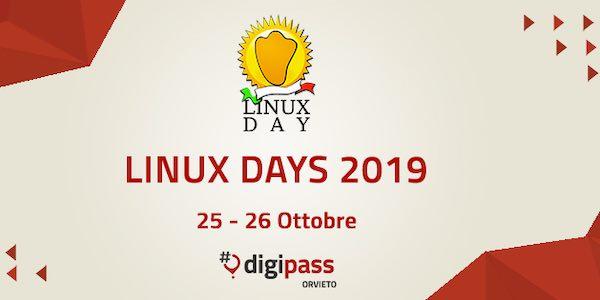 """Linux Days 2019 @ Orvieto"", due giornate pensate per i cittadini"