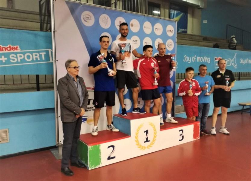 E' Enrico Trippini il campione italiano di Tennis Tavolo sesta categoria
