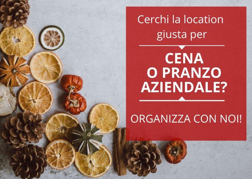 Location, catering e attrezzature: le proposte del Gruppo Cramst per le cene degli Auguri