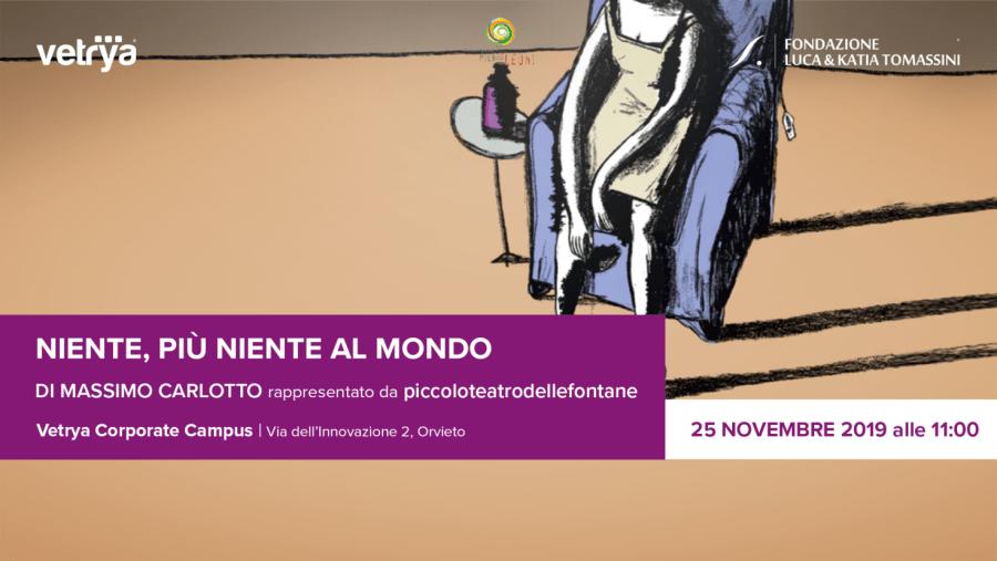 """""""Niente più niente al mondo"""" al Vetrya Campus con l'Ass.Pier Luigi Leoni"""