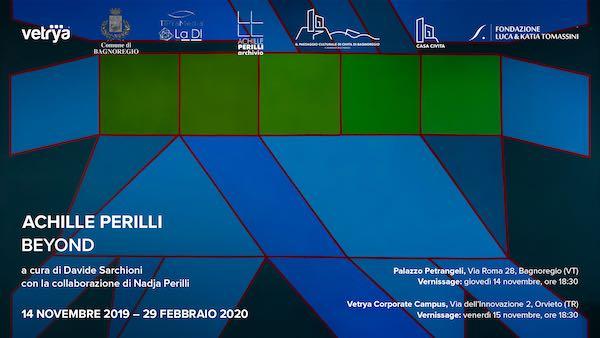 """L'astrattismo di """"Achille Perilli. Beyond"""" unisce Bagnoregio e Orvieto"""
