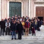 Pellegrini alleronesi a Siena sui luoghi ansaniani