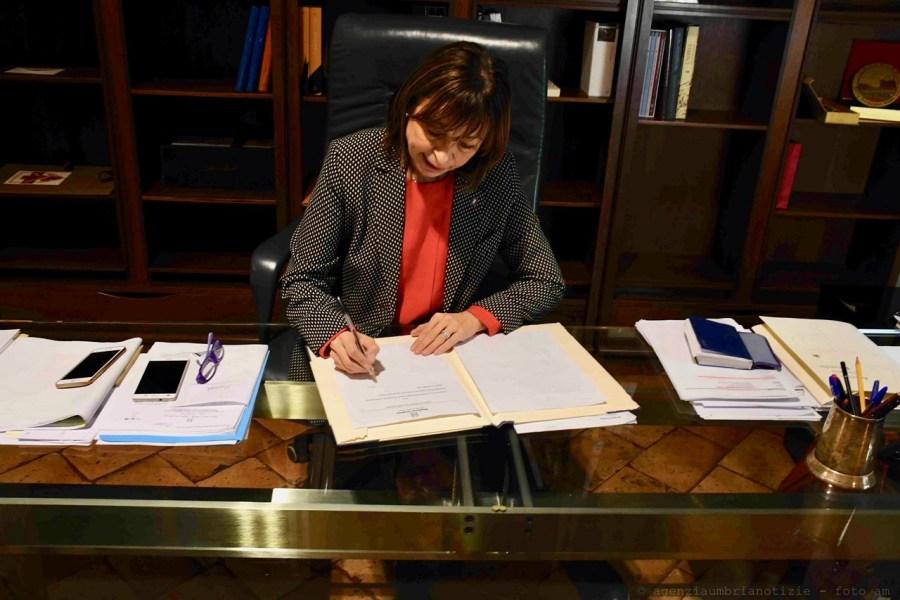 Il Presidente della Regione Umbria Donatella Tesei nomina la nuova Giunta a assegna le deleghe. Roberto Morroni Vice-Presidente
