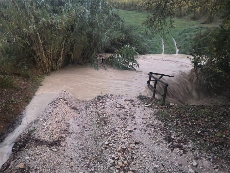 Montecchio, iniziati lavori post alluvione Consorzio Tevere-Nera e Comune su fossi e frane