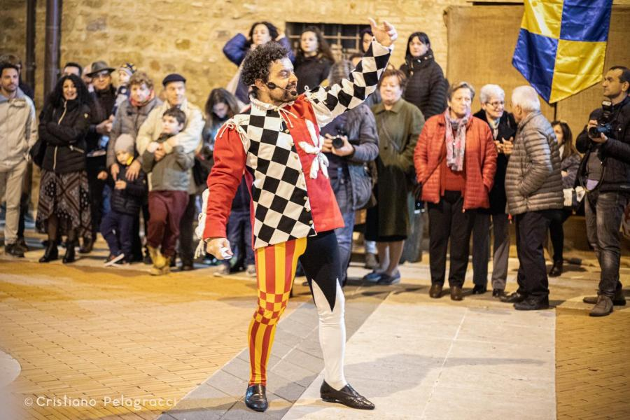La guerra del Sale di Torgiano, sotto la direzione artistica di Gianluca Foresi si conferma un evento di successo