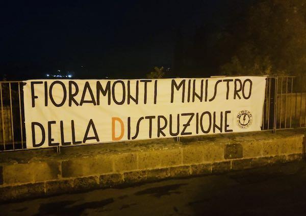 Blocco Studentesco: striscioni in tutta Italia e Umbria contro il ministro dell'istruzione Lorenzo Fioramonti