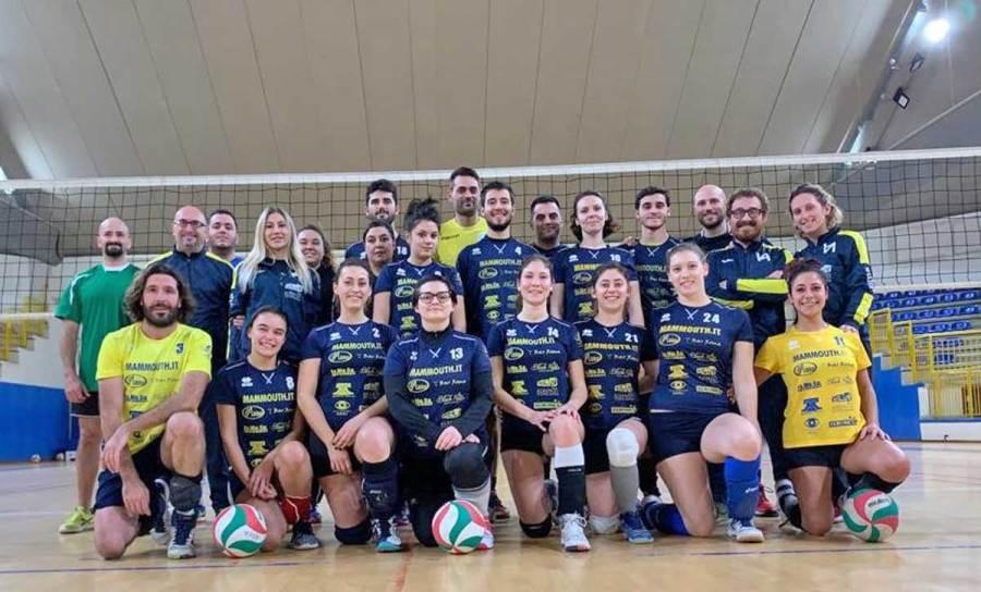 Esordio nell'Etruscan Volley League per la neonata USD Castelgiorgio Volley
