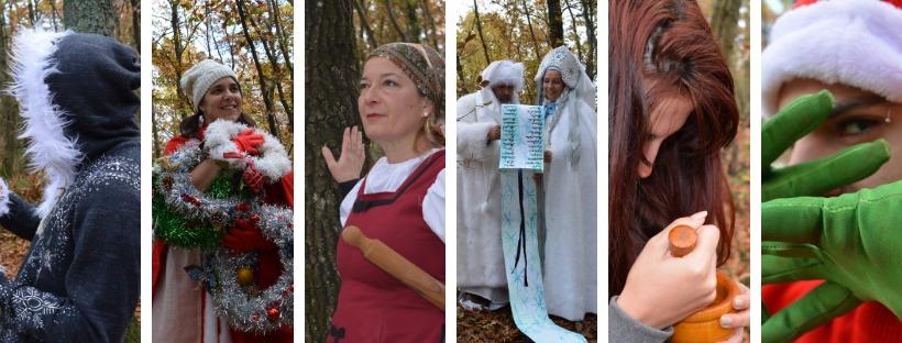 La sfida di Natale nel bosco del Parco Cinque Sensi