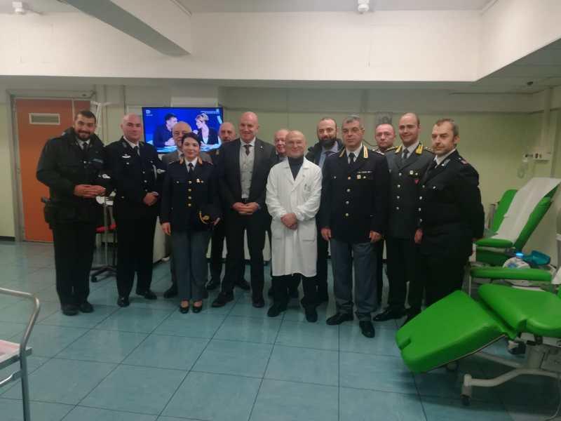 La Polizia di Stato aderisce alla campagna di sensibilizzazione alla donazione di sangue