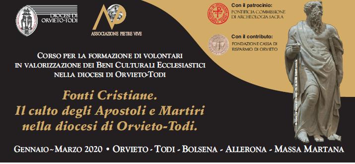 Il culto degli Apostoli e Martiri nella diocesi di Orvieto-Todi, al via le iscrizioni