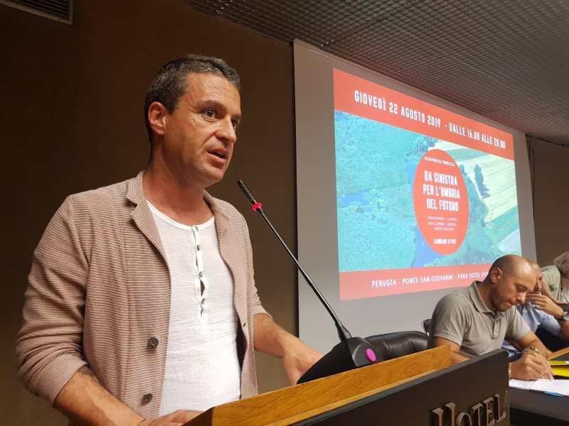 Incontro fra Andrea Fora  ed una delegazione di Umbria dei Territori