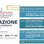 Università degli Educatori, Padre Fabrizio Valletti inaugura il nuovo anno accademico