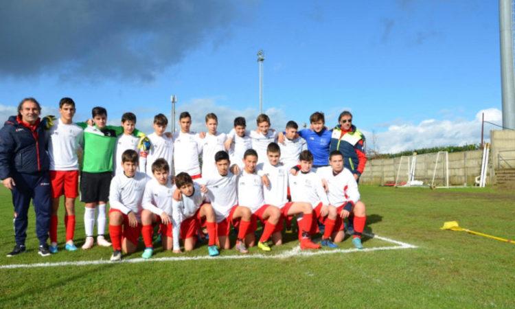 Under 14 Etruria calcio: 12 i punti di vantaggio sul quart'ultimo posto