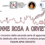 """Al via la seconda edizione di """"Penne rosa a Orvieto"""""""