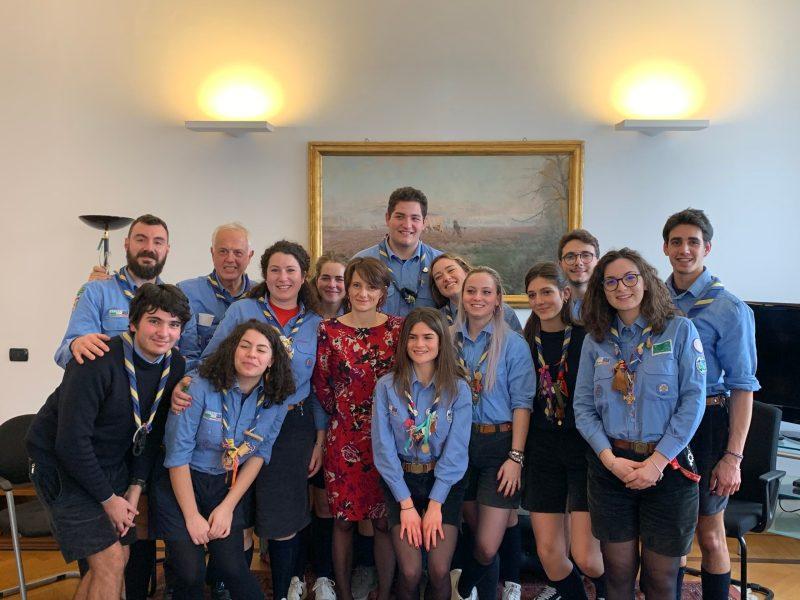 Adozione, affido e senza tetto: gli Scout di Orvieto incontrano il ministro Elena Bonetti