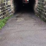 Ripulito il sottopassaggio di Orvieto Scalo, quello di Via Monte Bianco però è senza luce