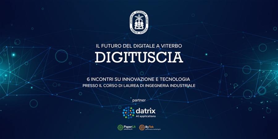 """Al via """"Digituscia"""", sei incontri su innovazione e tecnologia"""