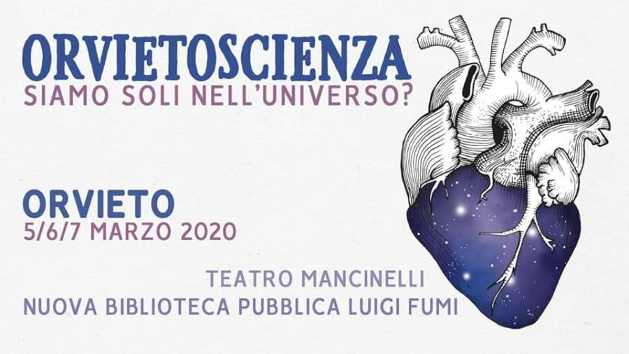 """CovID-19, rimandata l'edizione 2020 di """"OrvietoScienza"""""""