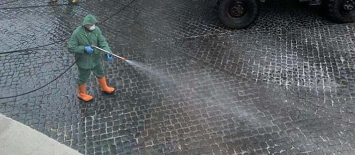 Montecchio, nuovo intervento di sanificazione sulle aree pubbliche